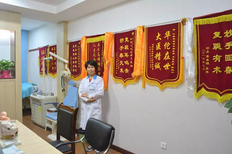 满载荣誉的听力中心陈纯松主任